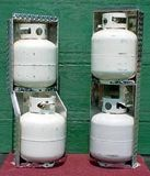 Propane Storage Rack Vertical & Step